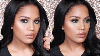 Glossy Green Eyeshadow Tutorial | MakeupShayla