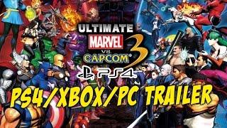 getlinkyoutube.com-Ultimate Marvel vs Capcom 3 for PS4/Xbox/PC Trailer