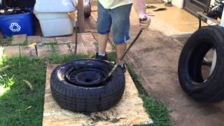 getlinkyoutube.com-How to change your own tires by hand