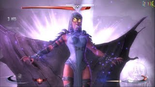 getlinkyoutube.com-Injustice Gods Among Us Raven Classic Ladder Walkthrough and Ending
