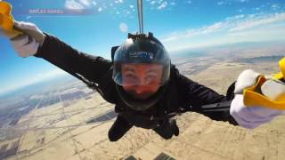 getlinkyoutube.com-PICTURE PERFECT: Man takes pictures, 15,000 feet up in the air
