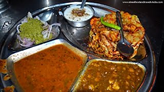 getlinkyoutube.com-North Indian Thali | Indian Food in Delhi | By Street Food & Travel TV India