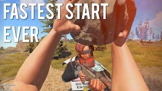 getlinkyoutube.com-Rust - FASTEST START EVER