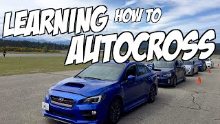 Learning Autocross In A 2015 Subaru WRX