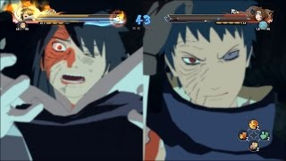 getlinkyoutube.com-Naruto Shippuden Ultimate Ninja Storm 4 - Zetsu Obito vs Kakashi & Rin