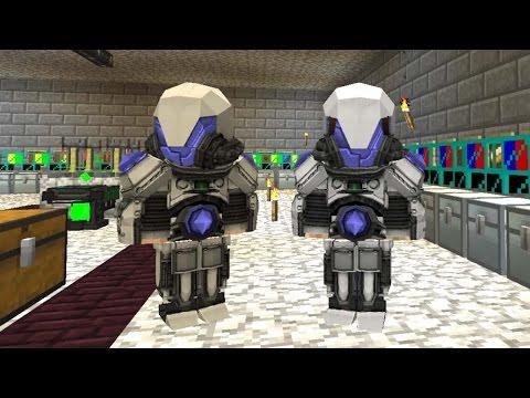 Minecraft: Big Dig #18 - ROBOT OLDUK!