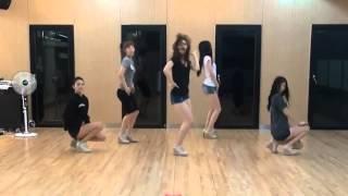 getlinkyoutube.com-EXID - I Feel Good [Slow+Mirrored] Dance Practice