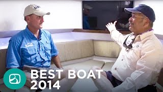 getlinkyoutube.com-Florida Sportsman Best Boat 2014: Belzona Marine 327 Walk Around