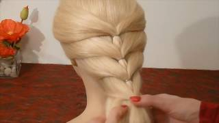 getlinkyoutube.com-Back To School Hairstyles. SUPER Easy and Quick Braid Hairstyle. Penteados