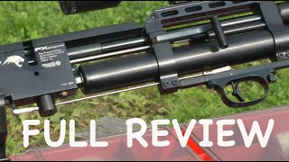 getlinkyoutube.com-TORTURE TEST - FX Wildcat - 100 Yard Air Rifle Shooting - Power Accuracy