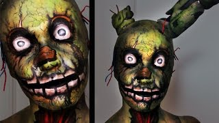 getlinkyoutube.com-Springtrap | Five Nights at Freddy's 3 | Makeup Tutorial