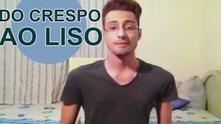 getlinkyoutube.com-CABELO MASCULINO: SUPER CRESPO AO LISO EM 15 MINUTOS