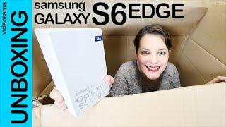 getlinkyoutube.com-Samsung Galaxy S6 Edge unboxing en español
