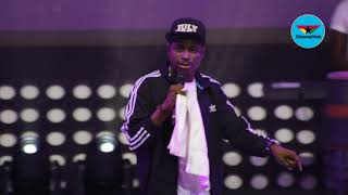 Kenny Blaq's full performance at 2018 Easter Comedy show width=
