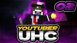 Minecraft DOUBLE HEARTS UHC - UNLIMITED DIAMONDS!! - Ep. 2 ( Minecraft Ultra Hardcore )