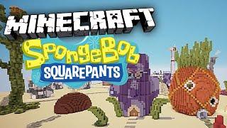 getlinkyoutube.com-BIKINI BOTTOM TOUR! Spongebob Mod Minecraft Roleplay!
