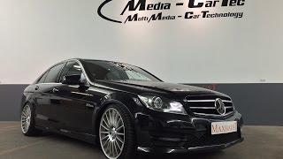 getlinkyoutube.com-Mercedes C-Class W204 - Maxhaust Active Sound Engine Sound