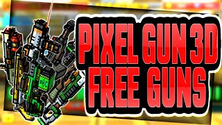 Pixel Gun 3D - HOW TO GET FREE GUNS! - GET ANY GUN FOR FREE!!!! (GLITCH) 100% REAL