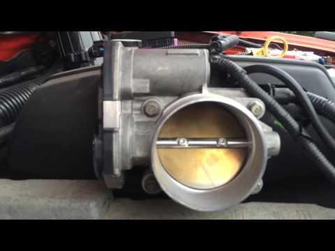 Проблема с Дроссельной заслонкой Hummer H3 3.7