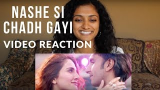 Song Reaction to NASHE SI CHAD GAYI - Befikre | Ranveer Singh | Vaani Kapoor