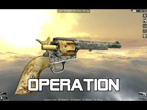 Colt Single Action Army (full disassembly and operation)