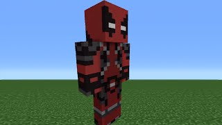 getlinkyoutube.com-Minecraft Tutorial: How To Make A Deadpool Statue