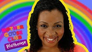getlinkyoutube.com-Rainbow, Rainbow | Mother Goose Club Playhouse Kids Video