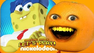 getlinkyoutube.com-Annoying Orange - SPONGEBOB ON THE RUN!