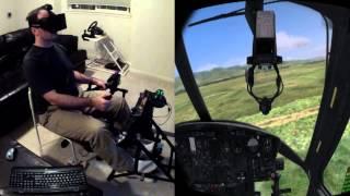 getlinkyoutube.com-DCS Huey with Oculus Rift / Max Flight Stick / Razer Hydra / VorpX Beta