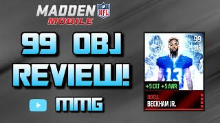 getlinkyoutube.com-99 Odell Beckham Master Card! Madden 16 Mobile Gameplay/Review