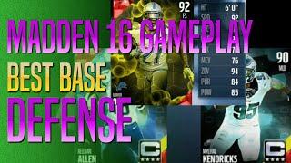 getlinkyoutube.com-Madden 16 - Best Base Defense Gameplay? MUT Captains Shine!