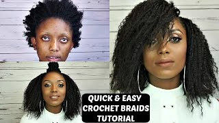getlinkyoutube.com-Quick and Easy Crochet Braids Tutorial Collab