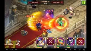 getlinkyoutube.com-Magic Rush Heroes: Alma vs Karna