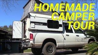 getlinkyoutube.com-Homemade Pop-up Camper Tour