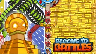 getlinkyoutube.com-Bloons TD Battles - Most Monkey Temples Ever on the Map!