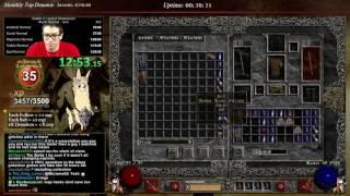 getlinkyoutube.com-Diablo 2 - Sorceress Norm Speedrun Amazing Run!!