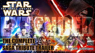 getlinkyoutube.com-Star Wars The Force Awakens - EXTENDED Complete Saga Tribute Trailer