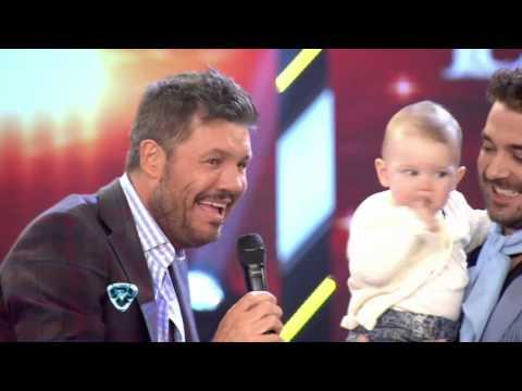 Showmatch 2014 - ¿Se convierte en animador infantil? Mirá cómo le habló Tinelli a Olivia Alfonso