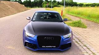 getlinkyoutube.com-Audi qp @ Facebook 3.0 TDI Sound Check RS5 Umbau sepangblau
