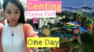 getlinkyoutube.com-Genting Highlands Theme Park (Indoor) in One Day