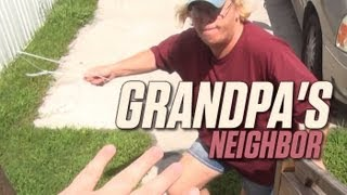 getlinkyoutube.com-Grandpa's Neighbor - 4th of July Blowout!
