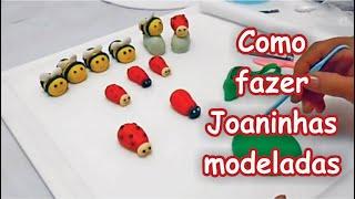 getlinkyoutube.com-Como modelar joaninhas em docinhos