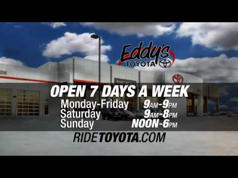Wichita, Kansas - Eddy's Toyota  Memorial Weekend Sale - EVERY VEHICLE IS ON SALE!