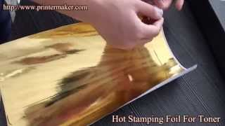 getlinkyoutube.com-Hot Stamping Foil For Toner.Toner Hot Stamping Foil,Fusing Foil