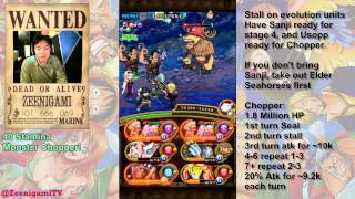 getlinkyoutube.com-Monster Chopper 40 Stamina Walkthrough (And BIG announcement) [One Piece Treasure Cruise]