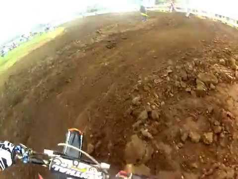 Motocross 250B Heat Race. Great Jones County Fair. Juy 2014