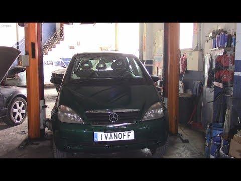 Ремонт автомобиля Mercedes A 170CDI W168 замена прокладок коллектора и клапанной крышки