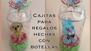 getlinkyoutube.com-CAJITAS CILINDRICAS PARA REGALO  HECHAS CON BOTELLAS PET