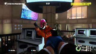 getlinkyoutube.com-Payday 2: Crimewave Edition - Invisible Hoxton GLITCH!
