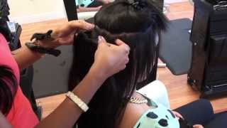 getlinkyoutube.com-Indian Remy Clip-In Hair Extensions. International Hair Company